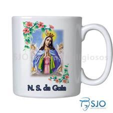 Imagem - Caneca Nossa Senhora da Guia com Oração - 15260778