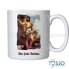 Imagem - Caneca São João Batista com Oração cód: 13606853