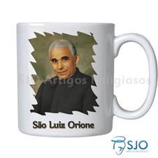 Imagem - Caneca São Luiz Orione com Oração cód: 17765337