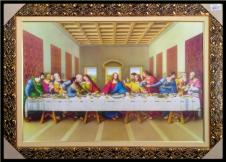 Imagem - Quadro Religioso Santa Ceia - 50 x 70 cm  cód: 11400158