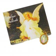 Imagem - Cartão com Medalha do Anjo da Guarda cód: 10863297