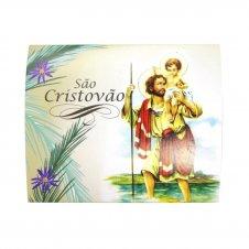 Imagem - Cartão com Mini Terço de São Cristóvão cód: 11725703