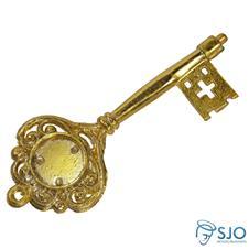 Imagem - Chave Dourada Personalizada - 14 cm - NTF15468754