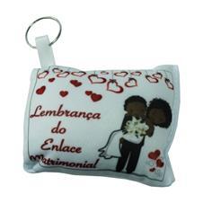 Imagem - Chaveiro Almofada de Casamento cód: 40303-3