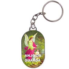 Imagem - Chaveiro Chapinha - Anjo da Guarda - Mod. 02 cód: 13666385
