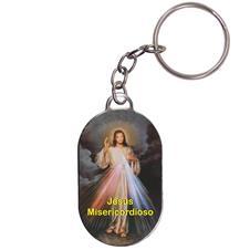 Imagem - Chaveiro Chapinha - Jesus Misericordioso cód: 13783359