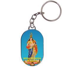 Chaveiro Chapinha - Nossa Senhora da Abadia - Mod. 1