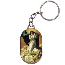 Imagem - Chaveiro Chapinha - Nossa Senhora da Imaculada Conceição - Mod. 02 cód: 14978318