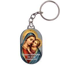 Imagem - Chaveiro Chapinha - Nossa Senhora do Bom Conselho cód: 10839087