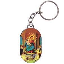 Imagem - Chaveiro Chapinha - Nossa Senhora do Rosário cód: 18246679