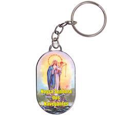 Imagem - Chaveiro Chapinha - Nossa Senhora dos Navegantes cód: 18383144