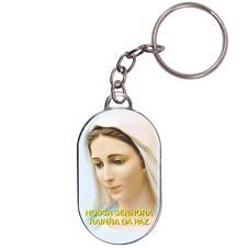 Chaveiro Chapinha - Nossa Senhora Rainha da Paz - Mod. 02