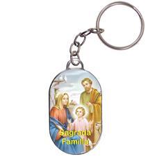 Imagem - Chaveiro Chapinha - Sagrada Família cód: 10335909