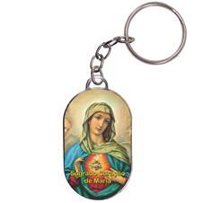 Chaveiro Chapinha - Sagrado Coração de Maria