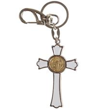 Chaveiro Cruz de São Bento Resinado