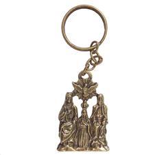 Imagem - Chaveiro Divino Pai Eterno de Bronze Mod 2 cód: 10626034