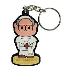 Chaveiro Emborrachado Papa Francisco