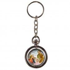 Imagem - Chaveiro Redondo Giratório - Sagrada Família cód: 12212754