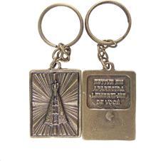 Imagem - Chaveiro Nossa Senhora Aparecida de Bronze cód: 13358057