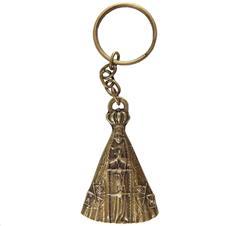 Imagem - Chaveiro Nossa Senhora Aparecida de Bronze - Modelo 02 cód: 18448897