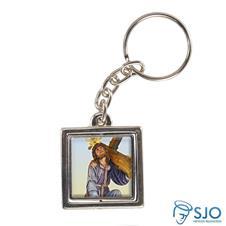 Imagem - Chaveiro Quadrado Giratório do Bom Jesus dos Passos cód: 18326938