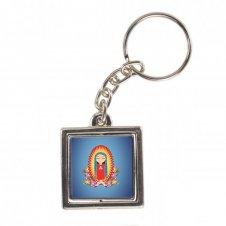 Imagem - Chaveiro Quadrado Giratório Nossa Senhora de Guadalupe Infantil cód: CQGNSGI