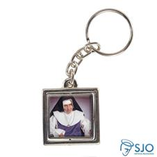 Imagem - Chaveiro Quadrado Giratório da Irmã Dulce - 12440715