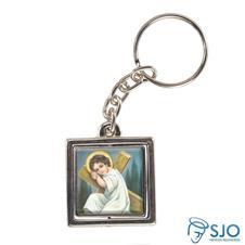 Imagem - Chaveiro Quadrado Giratório do Menino Jesus - Modelo 2 cód: 15807980