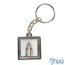 Imagem - Chaveiro Quadrado Giratório de Nossa Senhora do Equilíbrio cód: 11893186