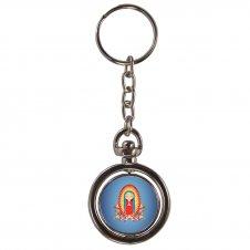 Imagem - Chaveiro Redondo Giratório Nossa Senhora de Guadalupe Infantil cód: CRGNSGI
