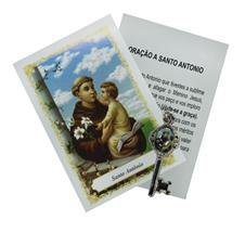 Imagem - Chavinha de Santo Antônio com Oração cód: 19812814