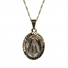 Imagem - Colar de Nossa Senhora Aparecida Resinado cód: 18141215