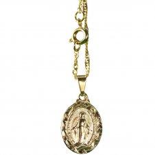 Imagem - Colar de Nossa Senhora das Graças cód: 18157490-19