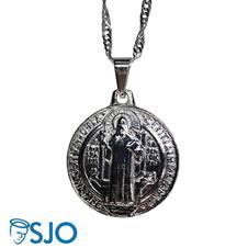 Imagem - Pingente Folheado Medalha de São Bento cód: 18339289-8
