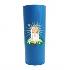 Imagem - Copo Long Drink Nossa Senhora de Fátima Infantil cód: CLDNSFIAC
