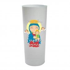 Imagem - Copo Long Drink Nossa Senhora do Perpétuo Socorro Infantil cód: CLDNSPSIB