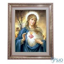 Imagem - Quadro - Sagrado Coração de Maria - Modelo 1 - 52 cm x 42 cm cód: 17025113