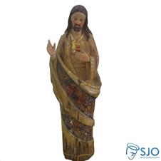 Imagem de Resina Sagrado Coração de Jesus - 30 cm