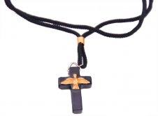 Imagem - Cordão com Crucifixo do Divino Espírito Santo - 3 cm - 12489052