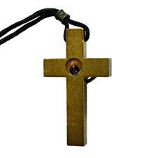 Cordão com Cruz de Madeira de São Bento