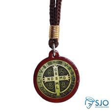 Cordão com Medalha de São Bento Adesivada