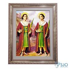 Imagem - Quadro - São Cosme e Damião - 52 cm x 42 cm cód: 15265302