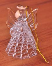 Anjo Estilizado de Cristal - 6 cm
