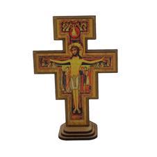 Imagem - Crucifixo de Damião - 17 cm cód: 19434771