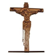 Imagem - Crucifixo de Madeira - 30 cm cód: 13777100