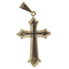 Imagem - Crucifixo Folheado a Ouro cód: 12350009