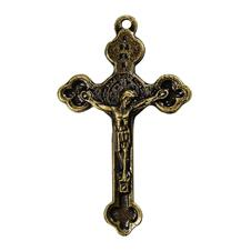 Imagem - Crucifixo com Medalha São Bento cód: 15720292-2