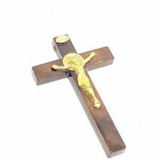 Imagem - Crucifixo de Porta com São Bento 7,5 cm cód: 2501