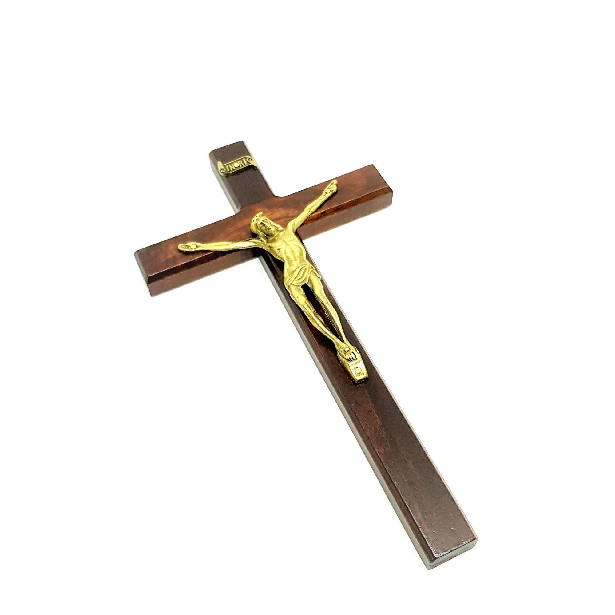 Imagem - Crucifixo de Parede Porta 23 cm 6200