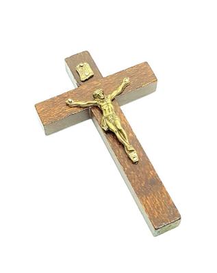 Imagem - Crucifixo Rústico de Porta 12 cm 2607